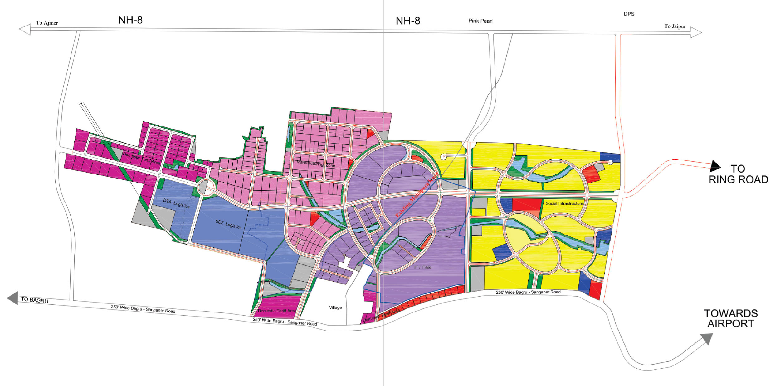 Mahindra world city integrated business cities special economic zone master plan gumiabroncs Gallery